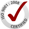 Click here for a copy of our ISO certificate